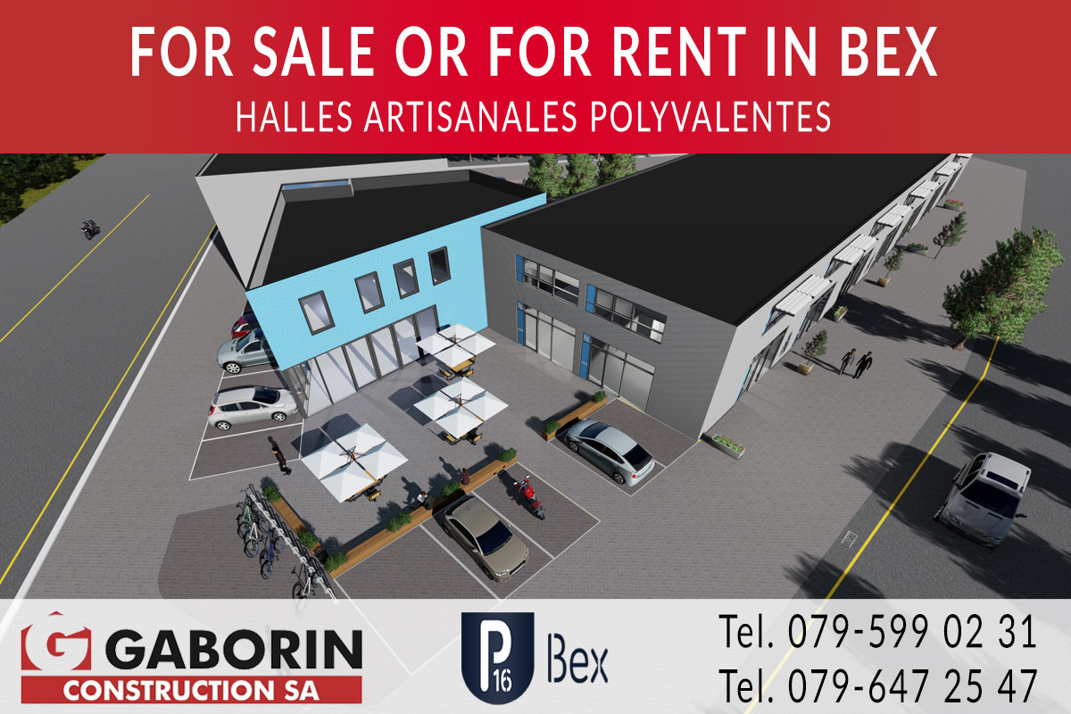 Commercial spaces for sale in Bex