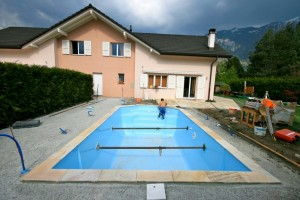 Piscine construction Bex
